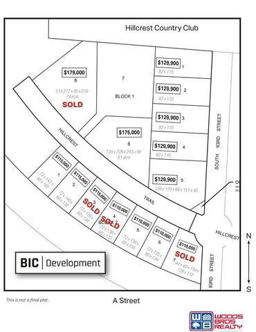 Blk 1 Lot 2 S 93rd Street, Lincoln, NE 68520 (MLS #21920124) :: Dodge County Realty Group
