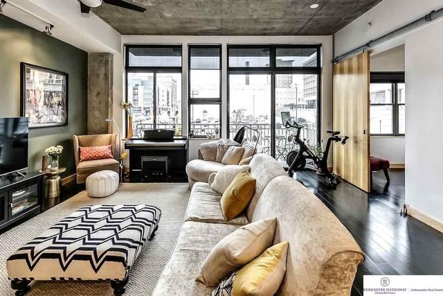 1308 Jackson Street #309, Omaha, NE 68102 (MLS #22110338) :: Lincoln Select Real Estate Group