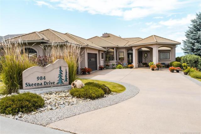 984 Skeena Drive,, Kelowna, BC V1V 2K7 (MLS #10187230) :: Walker Real Estate Group