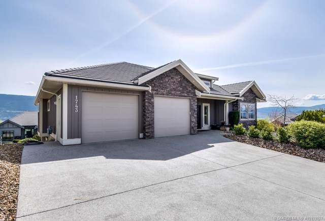 1743 Capistrano Peaks Crescent,, Kelowna, BC V1V 2Z3 (MLS #10193027) :: Walker Real Estate Group