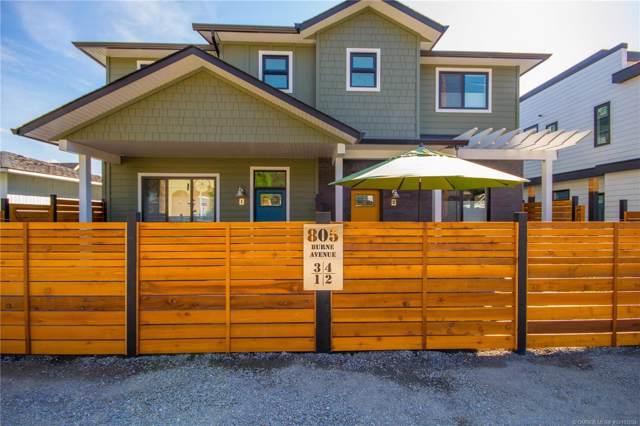 #3 805 Burne Avenue,, Kelowna, BC V1Y 5P6 (MLS #10193204) :: Walker Real Estate Group