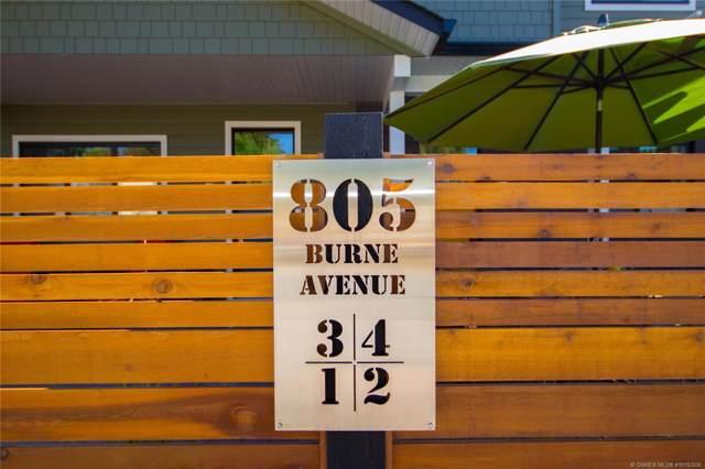 #4 805 Burne Avenue,, Kelowna, BC V1Y 5P6 (MLS #10193206) :: Walker Real Estate Group