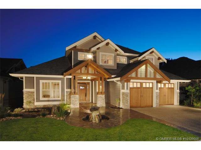 1958 Hidden Lake Place, Kelowna, BC V1V 2W8 (MLS #10139008) :: Walker Real Estate