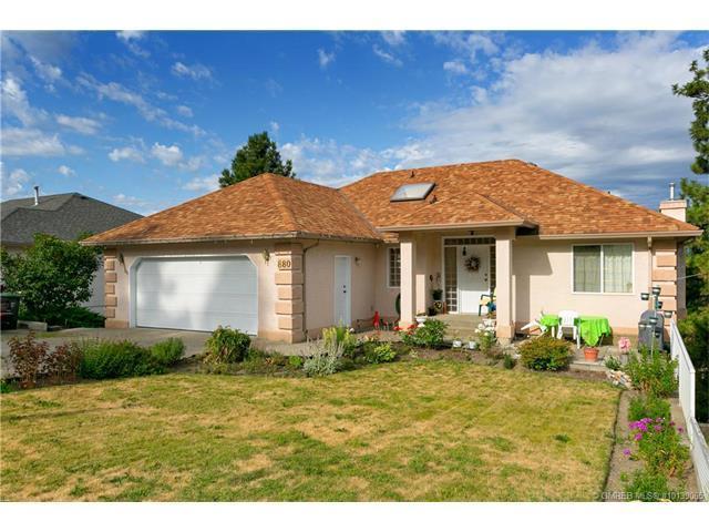 880 Ackerman Court, Kelowna, BC V5Y 2V3 (MLS #10139065) :: Walker Real Estate