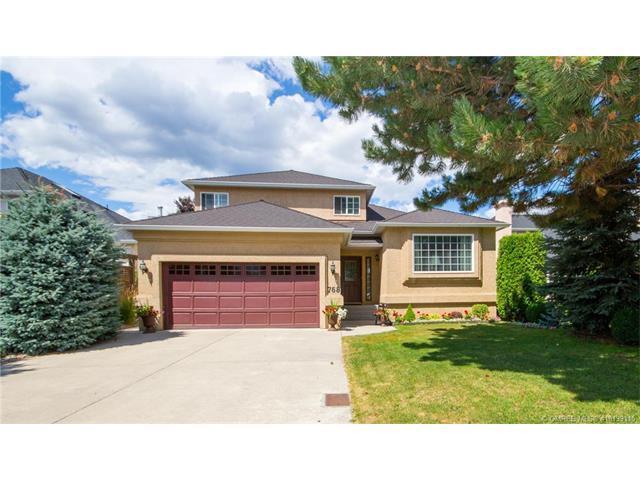 768 Springrose Way, Kelowna, BC V1W 3M2 (MLS #10139115) :: Walker Real Estate