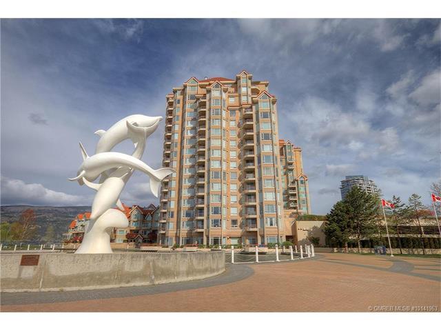 #704 1160 Sunset Drive,, Kelowna, BC V1Y 9P7 (MLS #10141963) :: Walker Real Estate