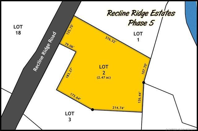 Lot 2 Recline Ridge Road,, Tappen, BC V0E 2X3 (MLS #10142794) :: Shuswap Real Estate by Stacey Leigh