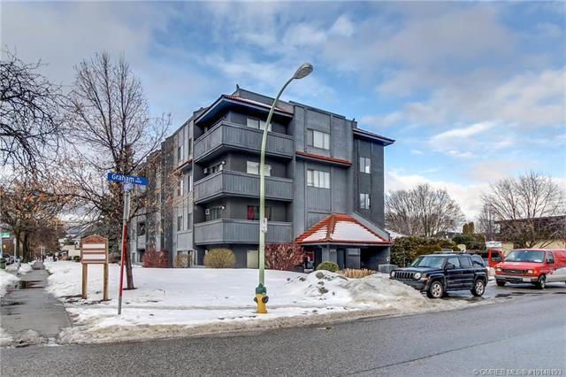 #304 1494 Graham Street,, Kelowna, BC V1Y 3B1 (MLS #10148193) :: Walker Real Estate