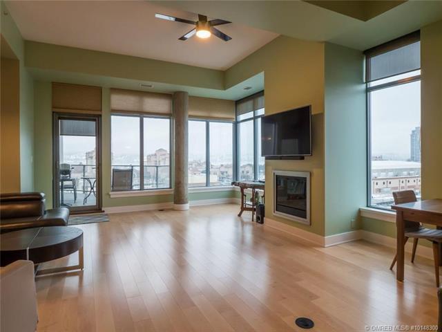 #601 1329 Ellis Street,, Kelowna, BC V1Y 9X5 (MLS #10148300) :: Walker Real Estate