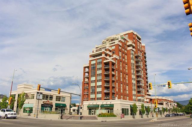 #508 1160 Bernard Avenue,, Kelowna, BC V1Y 6R2 (MLS #10152907) :: Walker Real Estate