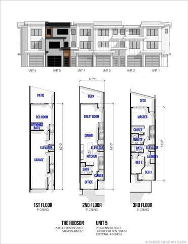 #5 421 Hudson Street, NW, Salmon Arm, BC V1E 2S1 (MLS #10169450) :: Walker Real Estate Group