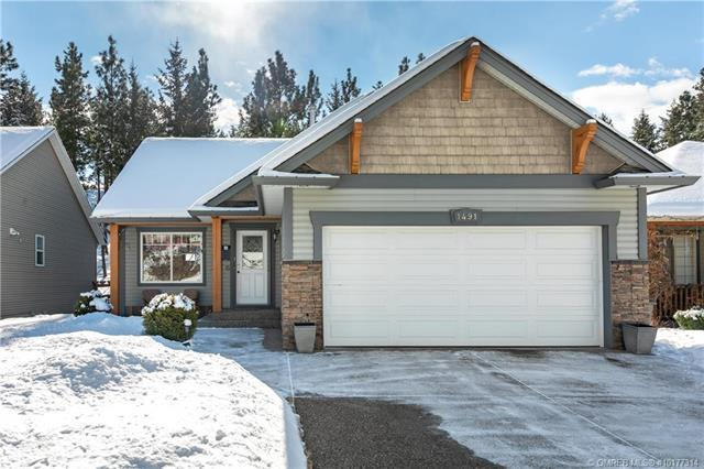 1491 Rose Meadow Drive,, West Kelowna, BC V1Z 4A3 (MLS #10177314) :: Walker Real Estate Group