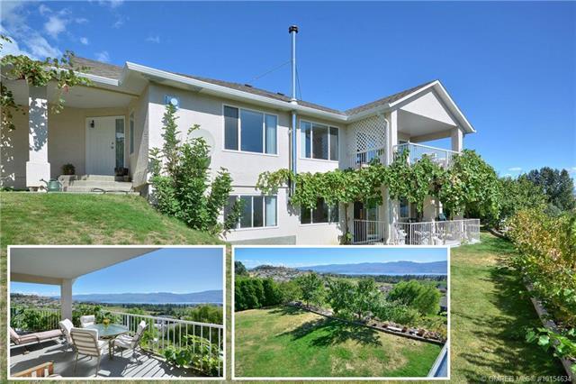 3009 Whispering Hills Drive,, West Kelowna, BC V4T 2M9 (MLS #10154634) :: Walker Real Estate