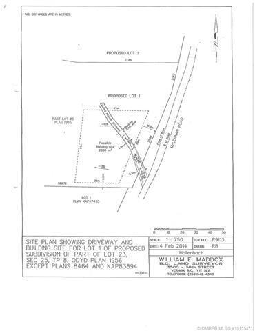 Lot 1 Mclennan Road,, Vernon, BC V1B 3S7 (MLS #10155471) :: Walker Real Estate