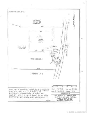 Lot 2 Mclennan Road,, Vernon, BC V1B 3S7 (MLS #10155475) :: Walker Real Estate