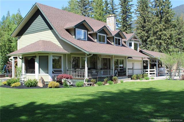 42 Lang Road,, Cherryville, BC V0E 2G3 (MLS #10159344) :: Walker Real Estate Group