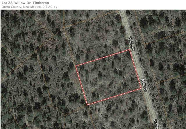 Lot 28 Willow Dr, Timberon, NM 88350 (MLS #160267) :: Assist-2-Sell Buyers and Sellers Preferred Realty