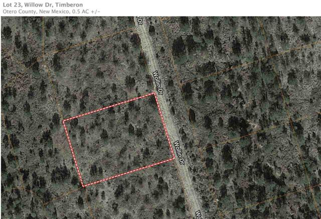 Lot 23 Willow Dr, Timberon, NM 88350 (MLS #160268) :: Assist-2-Sell Buyers and Sellers Preferred Realty