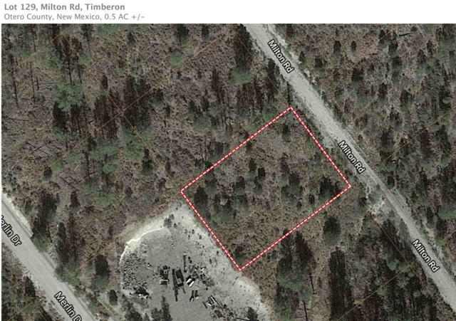 Lot 127 Milton Rd, Timberon, NM 88350 (MLS #160275) :: Assist-2-Sell Buyers and Sellers Preferred Realty