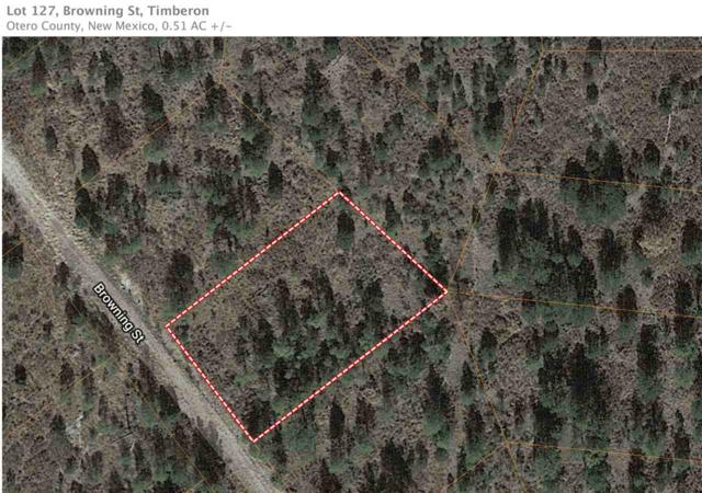 Lot 127 Browning St, Timberon, NM 88350 (MLS #160276) :: Assist-2-Sell Buyers and Sellers Preferred Realty