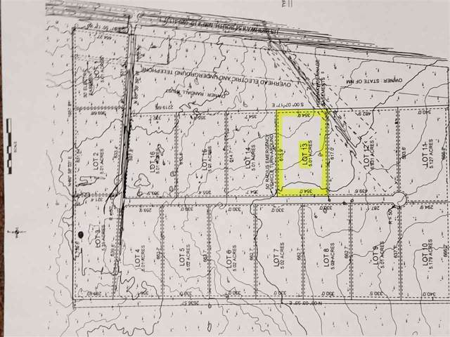 Lot 13 Address Not Published, Alamogordo, NM 88310 (MLS #161619) :: Assist-2-Sell Buyers and Sellers Preferred Realty