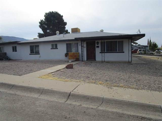 2100 Twelfth St, Alamogordo, NM 88310 (MLS #161746) :: Assist-2-Sell Buyers and Sellers Preferred Realty