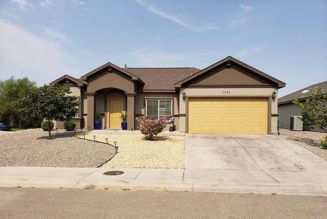 2496 Wyatt Way, Alamogordo, NM 88310 (MLS #165081) :: Assist-2-Sell Buyers and Sellers Preferred Realty