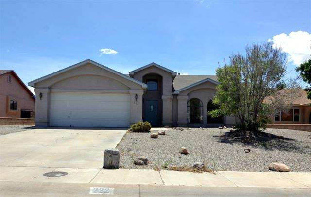 222 Kerry Av, Alamogordo, NM 88310 (MLS #160657) :: Assist-2-Sell Buyers and Sellers Preferred Realty