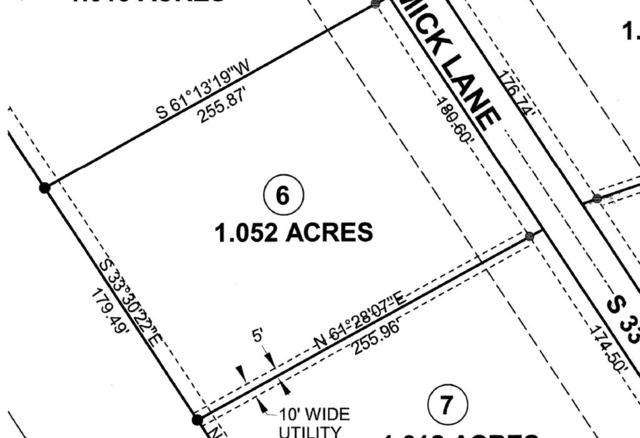 Lot #6 Mccormick Lane, Utica, KY 42376 (MLS #75906) :: Kelly Anne Harris Team