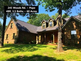 245 Woods Road, POPE, MS 38658 (MLS #138310) :: John Welty Realty