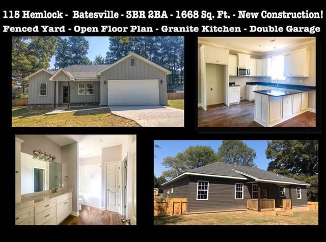 115 Hemlock, BATESVILLE, MS 38606 (MLS #144069) :: Oxford Property Group