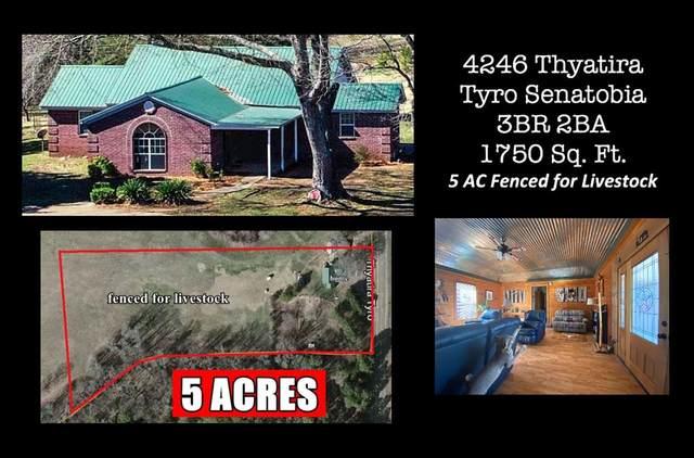 4246 Thyatira Tyro - Senatobia - Tate Co, OTHER, MS 38668 (MLS #145164) :: John Welty Realty