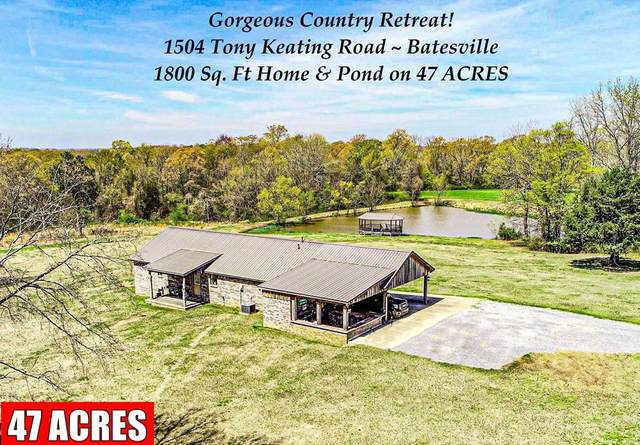 1504 Tony Keating Road, BATESVILLE, MS 38606 (MLS #145397) :: Oxford Property Group