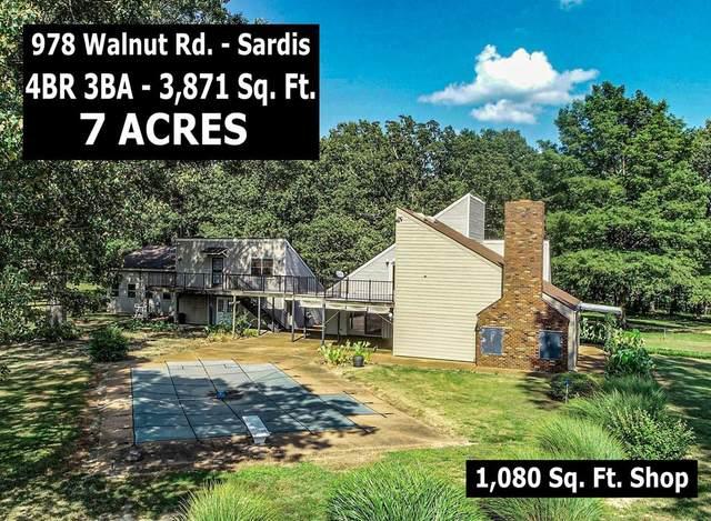 978 Walnut Road, SARDIS, MS 38666 (MLS #146455) :: John Welty Realty