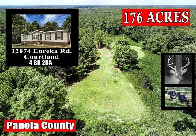 12874 Eureka Road, COURTLAND, MS 38620 (MLS #146468) :: John Welty Realty