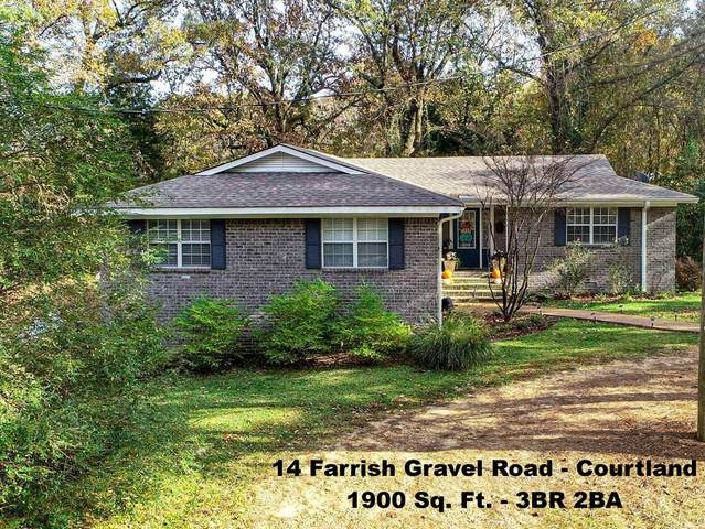14 Farrish Gravel Road, COURTLAND, MS 38620 (MLS #147050) :: Cannon Cleary McGraw