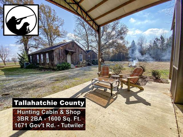 1671 Government Rd - Tutwiler - Tallahatchie County, OTHER, MS 38963 (MLS #147224) :: Cannon Cleary McGraw