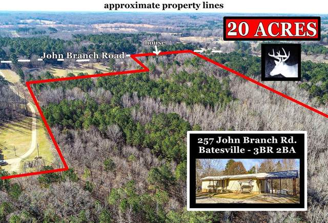 257 John Branch Road, BATESVILLE, MS 38606 (MLS #147381) :: Cannon Cleary McGraw