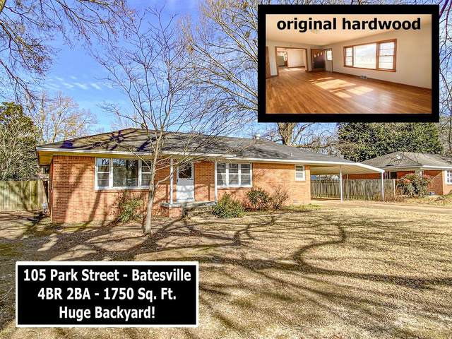 105 Park Street, BATESVILLE, MS 38606 (MLS #147468) :: Cannon Cleary McGraw