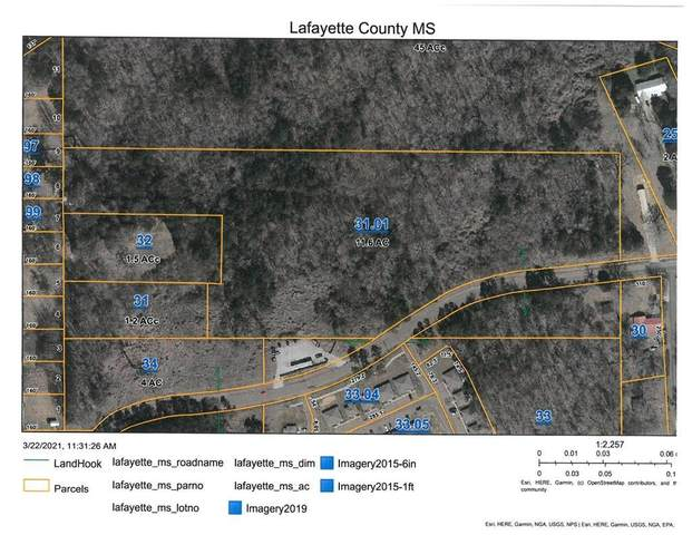 00 Anchorage Road, OXFORD, MS 38655 (MLS #147750) :: Oxford Property Group