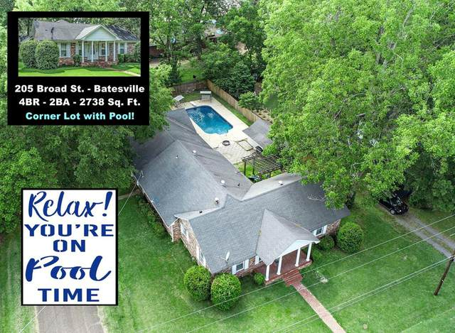 205 Broad Street, BATESVILLE, MS 38606 (MLS #148378) :: Cannon Cleary McGraw