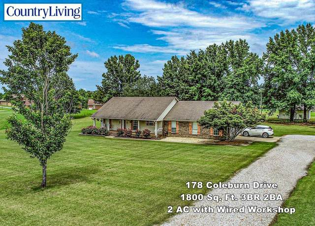 178 Coleburn Drive, BATESVILLE, MS 38606 (MLS #148418) :: Cannon Cleary McGraw