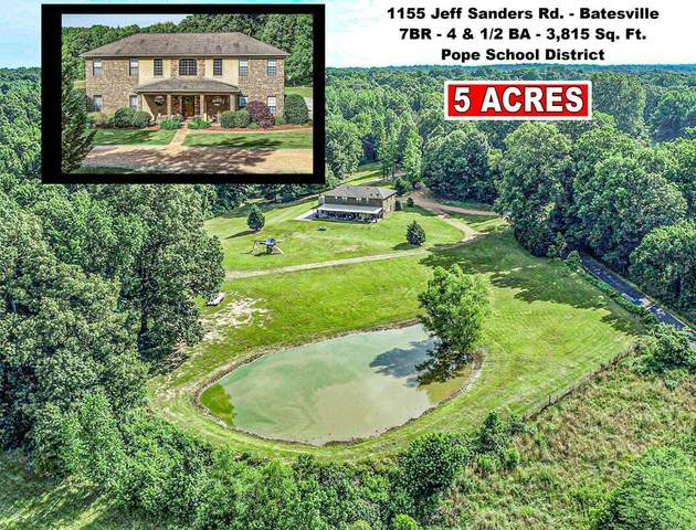 1155 Jeff Sanders Road, BATESVILLE, MS 38606 (MLS #148541) :: Cannon Cleary McGraw