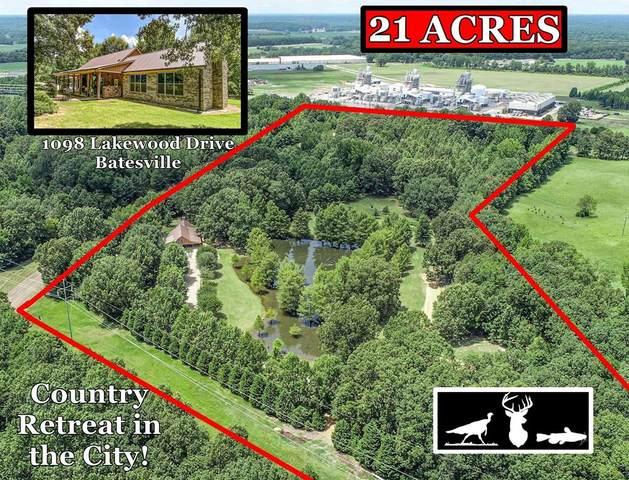 1098 Lakewood Drive, BATESVILLE, MS 38606 (MLS #148703) :: Oxford Property Group