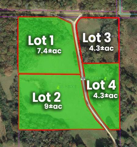 Lot 3 Cr 62, OAKLAND, MS 38948 (MLS #148865) :: Cannon Cleary McGraw