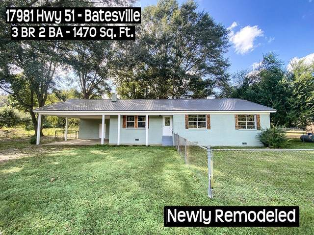 17981 Highway 51, BATESVILLE, MS 38606 (MLS #149223) :: Cannon Cleary McGraw
