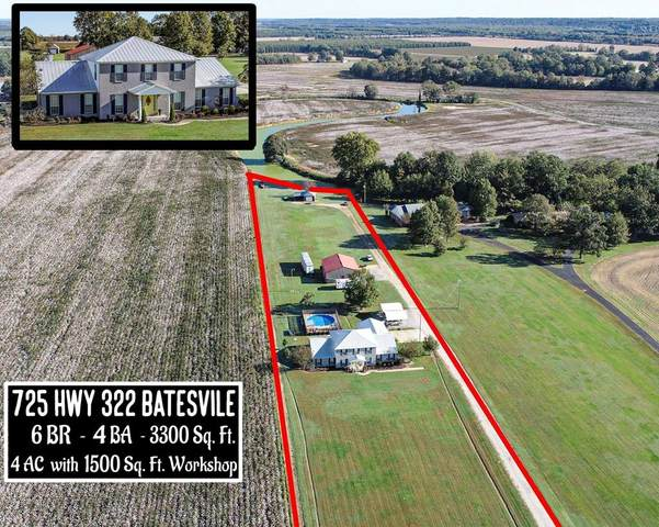 725 Highway 322, BATESVILLE, MS 38606 (MLS #149246) :: Cannon Cleary McGraw