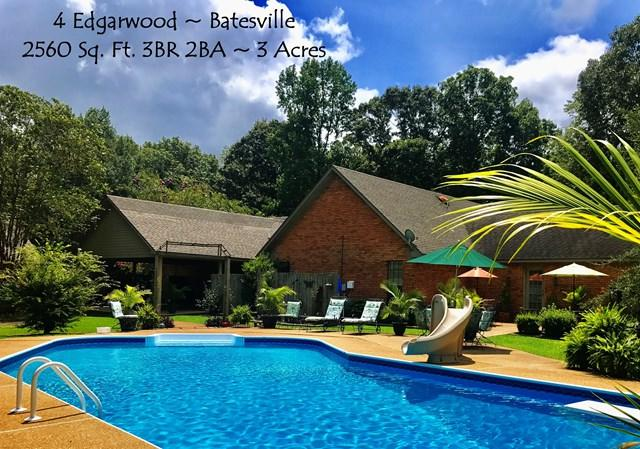 4 Edgarwood, BATESVILLE, MS 38606 (MLS #138892) :: John Welty Realty