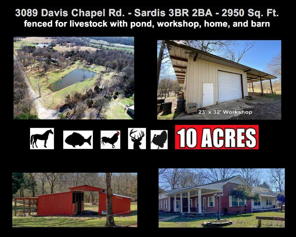 3089 Davis Chapel Road - Photo 1