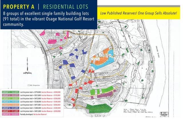 Lots #149, 150, 261 Oakmont Avenue Lots #263-267, Lake Ozark, MO 65049 (MLS #3503456) :: Coldwell Banker Lake Country